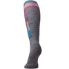 Smartwool W's PhD Ski Light Elite Pattern Socks Medium Grey